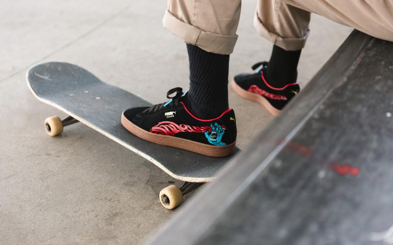 Puma i kultowy skateboardowy brad 'Santa Cruz' na 50