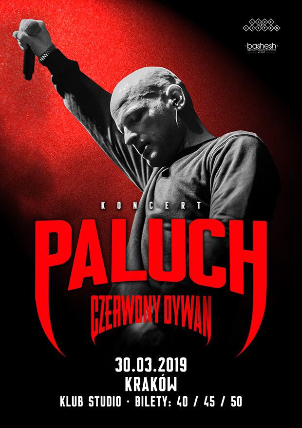 30032019 Kraków Koncert Paluch Czerwony Dywan